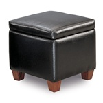 Accent Cube Ottoman by Coaster - 500902
