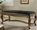 Traditional Upholstered Bench by Coaster - 501006