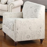 Norah Accent Fabric Chair by Coaster - 502513