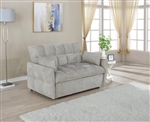 Cotswold Beige Chenille Sleeper Sofa Bed by Coaster - 508307