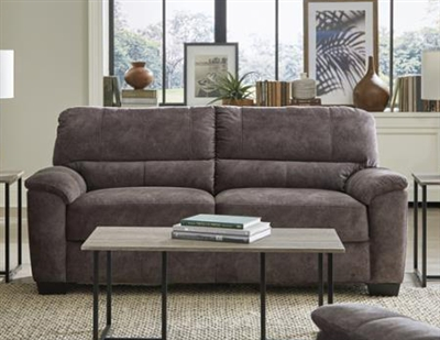Hartsook Sofa in Charcoal Grey Velvet by Coaster - 509751