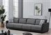 Seanna 4 Piece Sectional Sofa in Two Tone Grey Chenille by Coaster - 551441-04