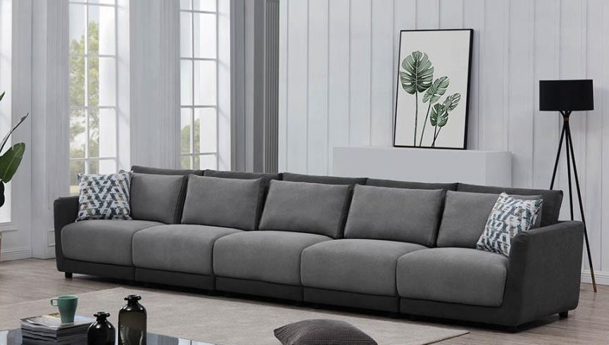 Seanna 5 Piece Sectional Sofa In Two