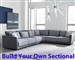 Seanna Two Tone Grey Chenille BUILD YOUR OWN Sectional by Coaster - 551441-S