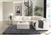 Hobson 5 Piece Sectional in Off White Linen Like Fabric by Coaster - 551451-5
