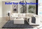 Hobson Off White Linen Like Fabric BUILD YOUR OWN Sectional by Coaster - 551451-B