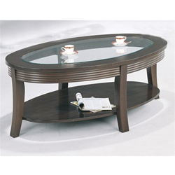 Cappuccino Finish Coffee Table by Coaster - 5525