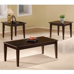 Cappuccino Occasional Table Set by Coaster - 5880
