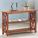 Brown Sofa Table by Coaster - 5908