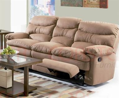 harmon dual reclining sofa in mocha brown microfiber by With mocha brown microfiber reclining sectional sofa