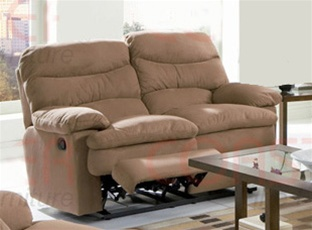 brown microfiber chocolate rooms console crestline contemporary loveseat living products plus power reclining loveseats