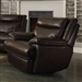 Macpherson Glider Recliner in Cocoa Bean Leather by Coaster - 601813