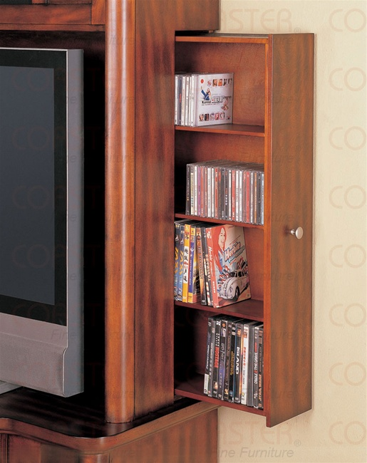 Modern Designed Tv Console With Hidden Dvd Storage On The Sides By Coaster 700131