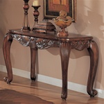 Shell and Leaf Sofa Table by Coaster - 700469