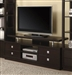 60 Inch TV Console in Cappuccino Finish by Coaster - 700696