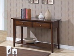 Occasional Sofa Table in Walnut Finish by Coaster - 700959
