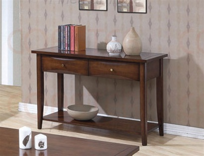 Marvelous Occasional Sofa Table In Walnut Finish By Coaster 700959 Ncnpc Chair Design For Home Ncnpcorg