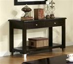 Sofa Table in Rich Dark Brown Walnut Finish by Coaster - 701199