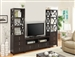 3 Piece Entertainment Center in Cappuccino Finish by Coaster - 703311-3