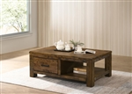 Occasional Tables in Rustic Golden Brown Finish by Coaster - 722798