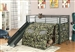 Camouflage Bunk Bed with Slide and Tent by Coaster - 7470