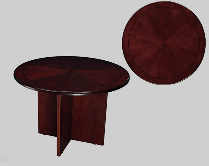 Sandoval Inch Round Conference Table In Cherry Finish By Coaster - 42 inch round conference table