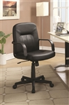 Black Office Chair by Coaster - 800049