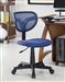 Blue Mesh Fabric Office Chair by Coaster - 800055B