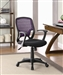 Black Mesh Fabric Office Chair by Coaster - 800056