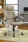 Beige Office Chair by Coaster - 800205