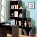 Decarie Home Office Cube Bookcase in Rich Dark Finish by Coaster - 800213