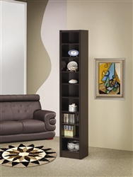 Bookcase in Cappuccino Finish by Coaster - 800285