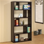 Cappuccino Bookcase by Coaster - 800296