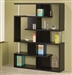 Modern Black Finish Bookcase by Coaster - 800309