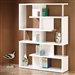 Modern White Finish Bookcase by Coaster - 800310