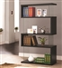Black and Glass Bookcase Display Cabinet by Coaster - 800340