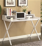 High Gloss White Desk by Coaster - 800407