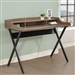 Writing Desk in Oak and Black Finish by Coaster - 800415