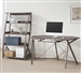 Harsen 2 Piece Home Office Set in Weathered Grey Finish by Coaster - 800428-S