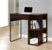 Power Outlet Desk in Cappuccino Finish by Coaster - 800678