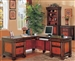 Home Office 3 Piece Executive Set in Two Tone Finish by Coaster - 800691S