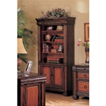 Home Office Bookcase in Dark Two Tone Finish by Coaster - 800693