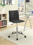 Modern Office Chair in Black Fabric by Coaster - 800725