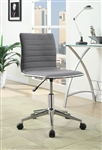 Modern Office Chair in Grey Fabric by Coaster - 800727
