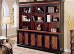 Two Tone Grand Style Library Wall by Coaster - 800742