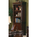 Traditional Home Office Executive Bookcase in Rich Brown Finish by Coaster - 800803