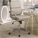 Office Chair in Taupe Leatherette by Coaster - 800828
