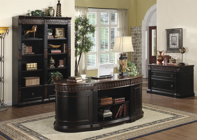 Nicolas 3 Piece Traditional Home Office