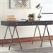 Writing Desk in Dark Grey Finish by Coaster - 801016