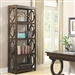 Enedina Bookcase in Rich Chestnut Finish by Coaster - 801213